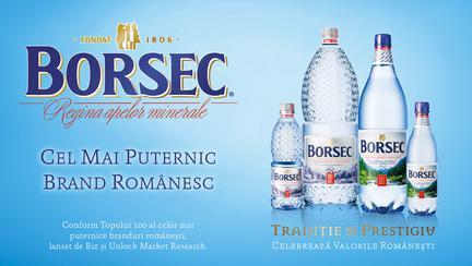 (P) Borsec, cel mai puternic brand românesc