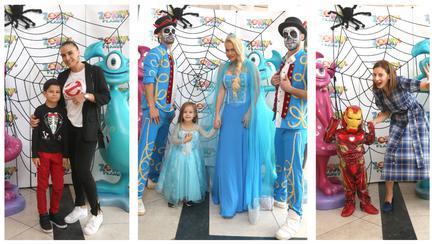 Cum s-au distrat copiii vedetelor la petrecerea în avans de Halloween?