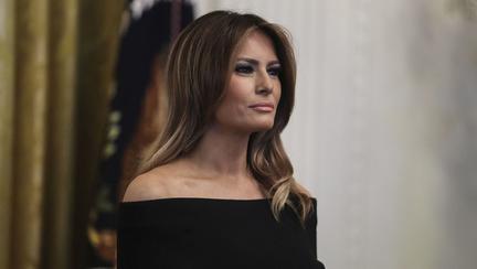 Melania Trump, schimbare radicală de look