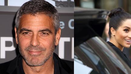 George Clooney sare în apărarea lui Meghan Markle