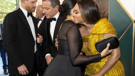 Meghan Markle și Beyonce, premieră Regele Leu, 14 iulie