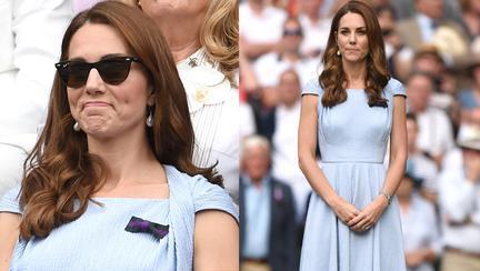 Kate Middleton, Wimbledon 2019