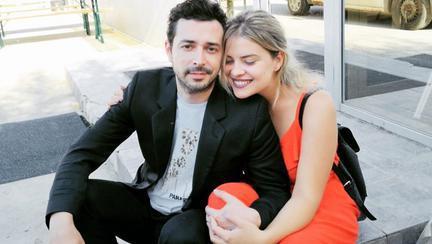 Marius Moga și soția lui Bianca