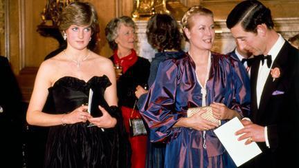 Prințesa Diana, Prințesa Grace și Prințul Charles