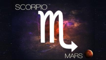 Marte în Scorpion