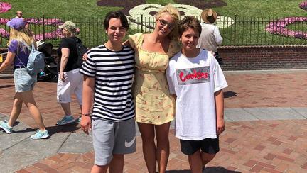 Britney Spears și fiii ei Jayden și Sean