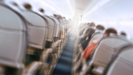 atac de panica in avion