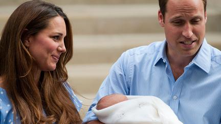Kate Middleton, prințul William și prințul George