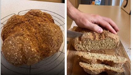 Pâine făcută în casă