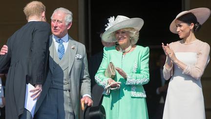 Prințul Harry, Prințul Charles, Camilla Parker Bowles și Meghan Markle