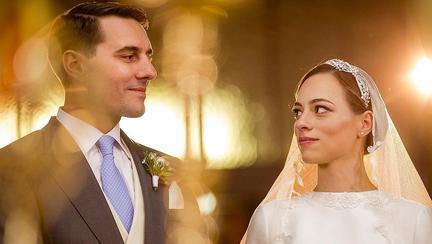 Fostul Principe Nicolae și Alina-Maria de Roumanie