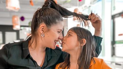 Tily Niculae și fiica ei Sofia