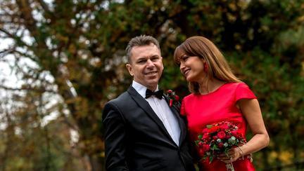 Anca Țurcașiu și soțul ei