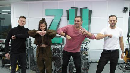 """(P) PREMIERĂ în MORNING ZU: The Motans și EMAA cântă """"Insula"""", LIVE, la Radio ZU"""