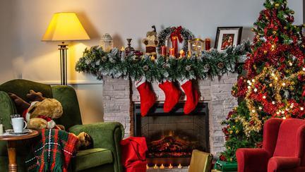 Cum au împodobit vedetele din România brazii de Crăciun?