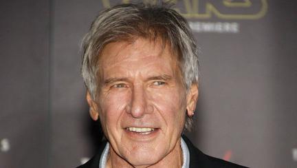 Harrison Ford a fost surprins când mânca dintr-un camion