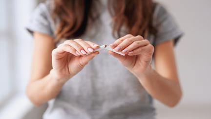 Mă las de fumat