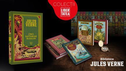 """Cărți de Jules Verne: Oferă-i copilului doză de aventură cu """"Cinci săptămâni în balon"""""""