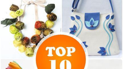 TOP 10 Bijuterii şi accesorii florale
