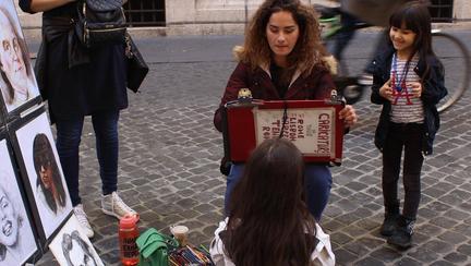 artist stradal la roma