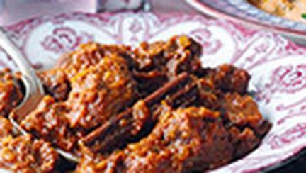 Tocanita de miel in stil indian