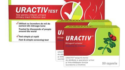 Câştigă zece produse Uractiv – pentru un tract urinar sănătos!