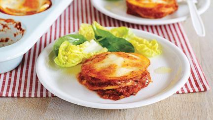 Lasagna vegetariană