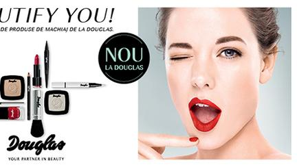 Noutăți de la Douglas: Beautify you!
