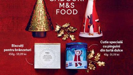 (P) Cadouri irezistibile de la Marks & Spencer Food
