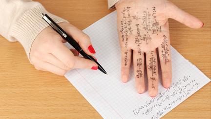 Cum să copiezi la examenul de bacalaureat, fără să fii prins