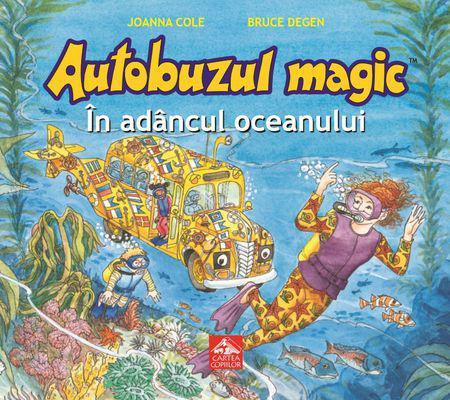 Autobuzul magic_In adancul oceanului - coperta