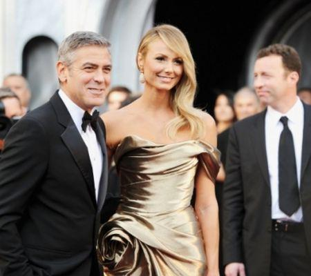 George Clooney si Stacy Keibler
