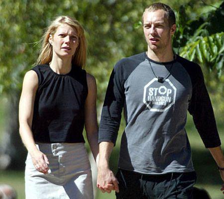 Chris Martin şi Gwyneth Paltrow