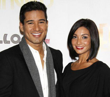 Mario Lopez si Courtney Laine Mazza