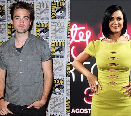 Pattinson şi Katy Perry