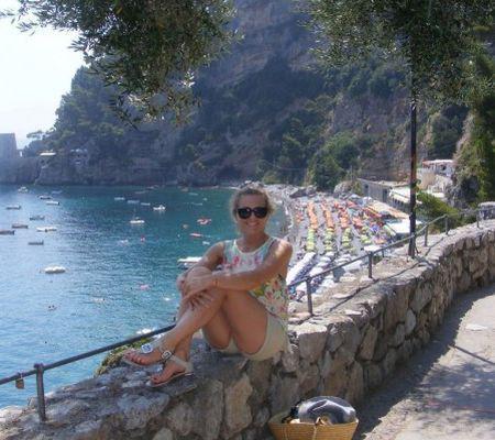 Mirela Boureanu Vaida s-a relaxat în Italia