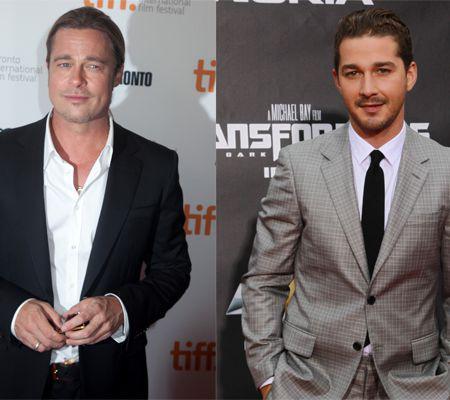 Brad Pitt nu se înţelege bine cu Shia LaBeouf