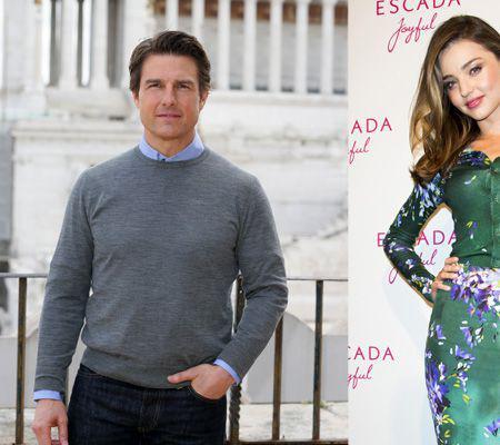Tom Cruise o curtează pe Miranda Kerr