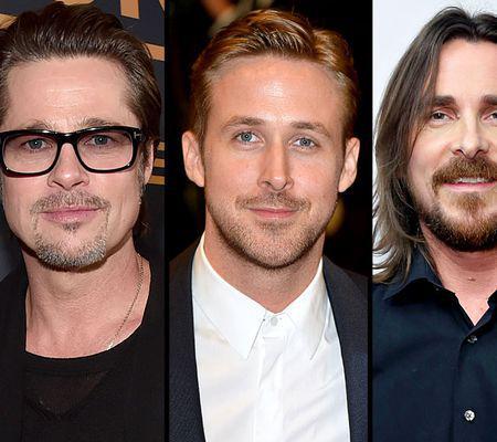 Brad Pitt, Ryan Gosling și Christian Bale