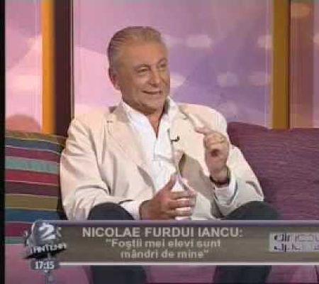 Nicolae Furdui Iancu la Dincolo de aparente