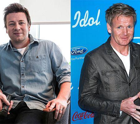 """Jamie Oliver """"Gordon Ramsay este gelos"""""""