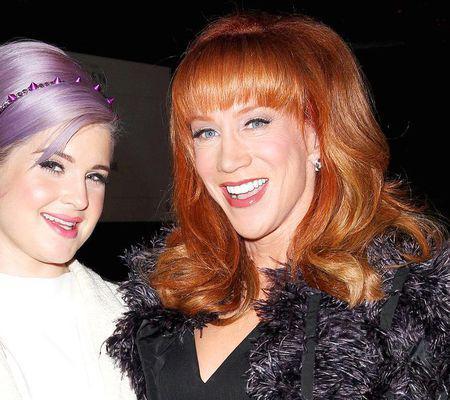Kelly Osbourne si Kathy Griffin