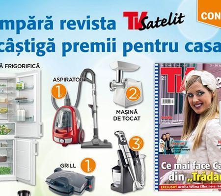 castiga electrocasnice Gorenje cu revista TV Satelit 1