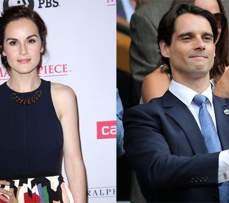 File photo - Michelle Dockery fiance dies