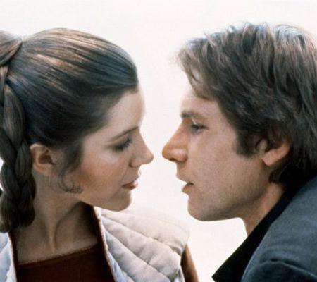 Carrie Fisher s-a iubit cu Harrison Ford