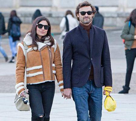 Ana Brenda Contreras şi Ivan Sanchez, împreună pe străzile din Madrid 1