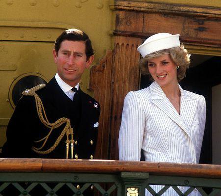 Printesa Diana si Printul Charles - Baza Navala La Spezia