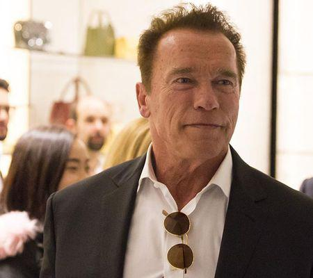 Arnold Schwarzenegger out and about, Rome, Italy - 25 Jan 2017