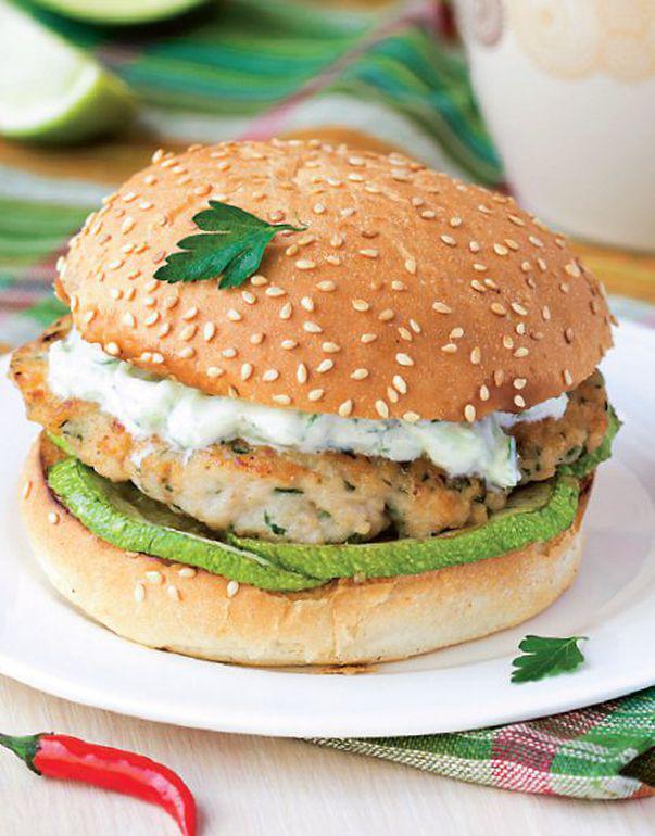 Burger în stil grecesc