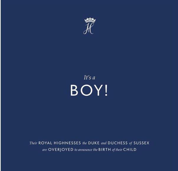 Meghan Markle a născut un băiețel! Fericire mare în familia regală britanică